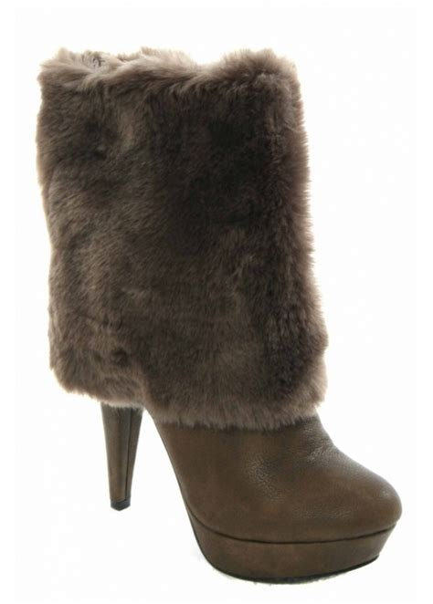boots with fur desirable desirable boots faux fur ankle boots