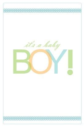 baby card wording ideas