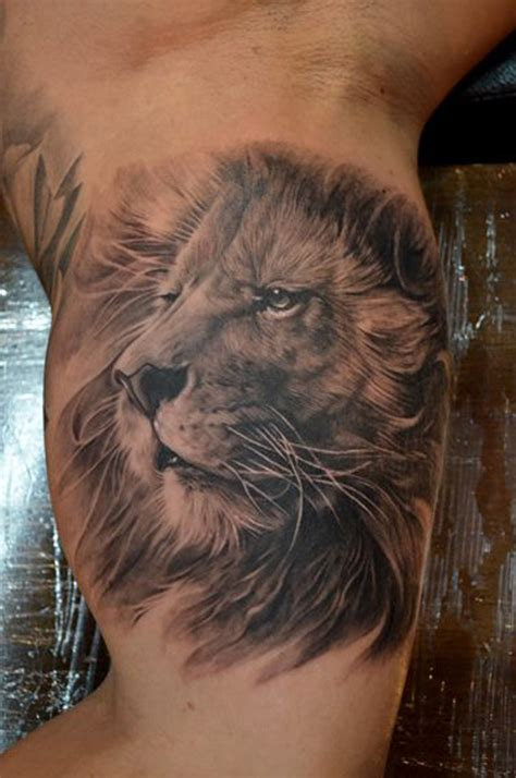 lion head tattoos 64 designs for and inspirationseek