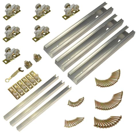 Closet Door Track Hardware Johnson Hardware 100md Series 70 In Track And Hardware
