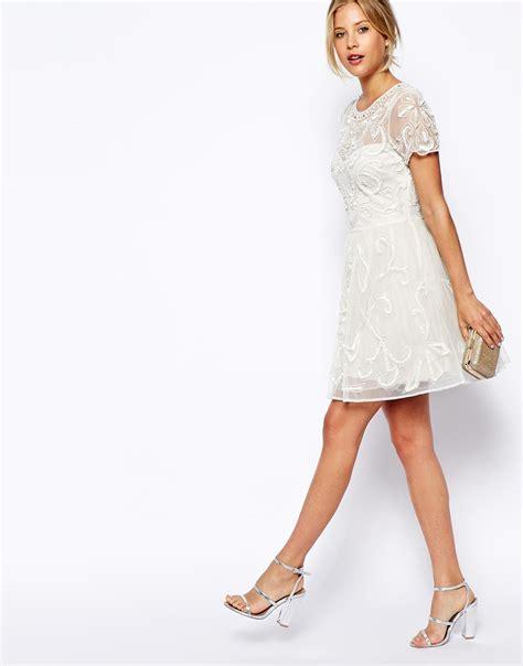 Asos Robe Blanche Courte - les robes de mari 233 e 224 petits prix une vrai tendance