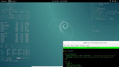 kali linux conky themes image gallery linux conky