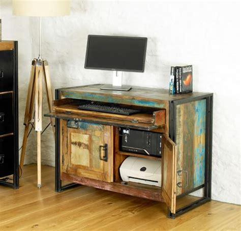 chic home office desk beautiful reclaimed urban chic desk shop now chattels