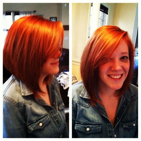 how to cut angled bob haircut myself 114 best images about hair on pinterest dark blonde