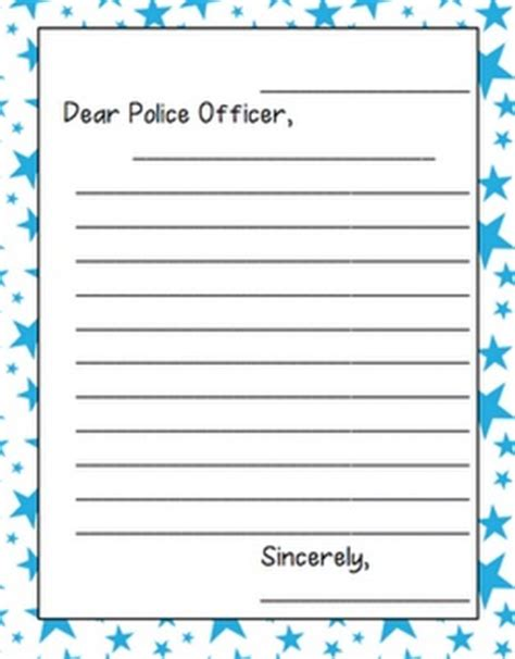 Thank You Letter Officer 17 Best Images About Crafts For C On Officer Patron Saints And Literacy