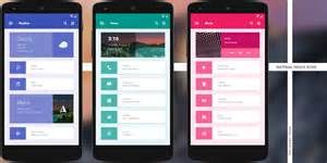 Home Design For Android 10 Creative Custom Android Homescreen Themes Made By