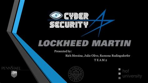 Lockheed Martin Corporation Mba Intern by Team 2 Lockheed Martin Business Plan