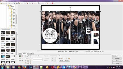 membuat id card jkt48 versi river cara buat id card menggunakan photoscape mars blog