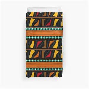 Duvet Cover With Ties Quot Colorful African Print Quot Duvet Covers By Lifecycleprints
