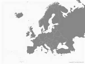 Free Asia Outline Map Vector by Vector Map Of Europe With Countries Single Color Free Vector Maps