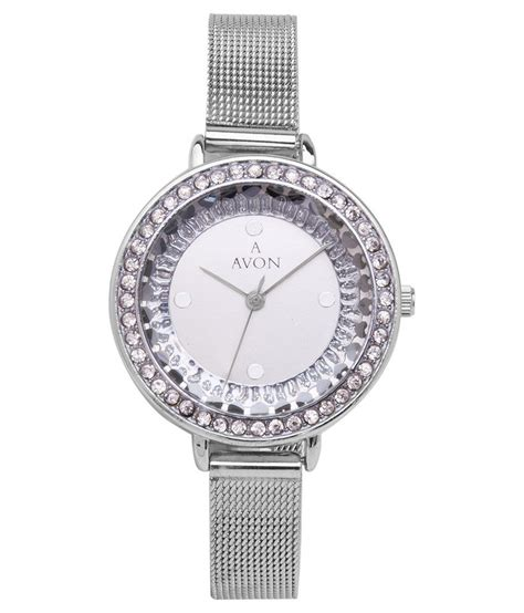 avon silver metal wrist  price  india buy  avon