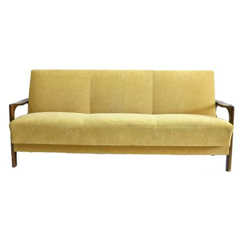 Yellow Sofa For Sale by Vintage Yellow Sofa For Sale At Pamono