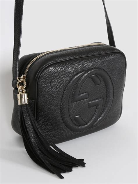 Gucci Luxury Bag gucci soho leather disco bag black luxury bags