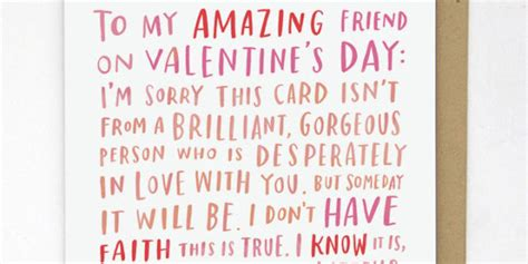 what to get a best friend for valentines day the best anti valentines cards and gifts to buy for your