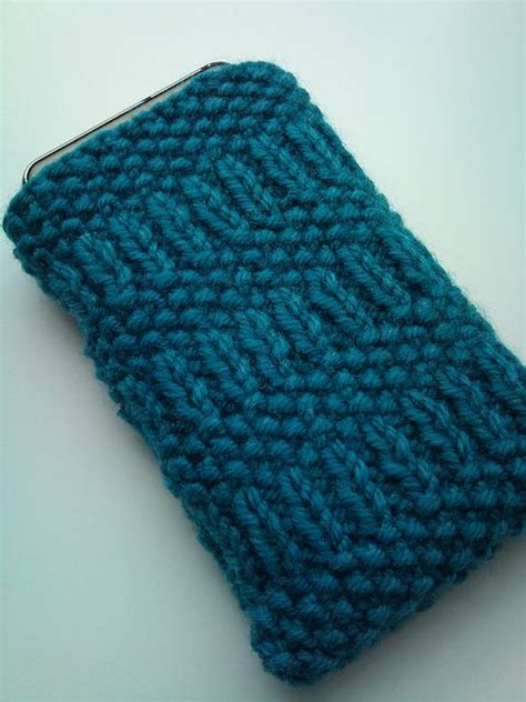 cell stitch knitting free knitting pattern smart phone tricoter