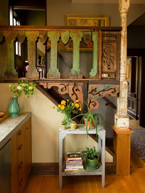 Banister Lights A Century Old Kitchen Comes To Life Kitchen Designs