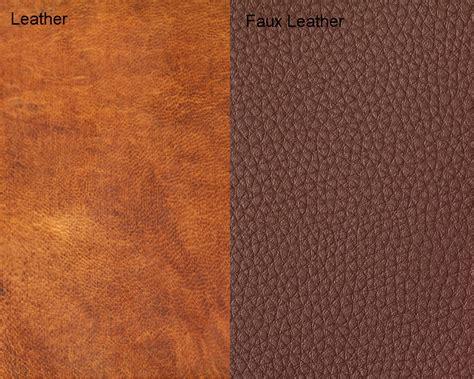 Leather vs Faux Leather | iLookWar.com Imitation Leather