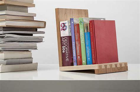 nature wood bookshelf display organizer office desktop