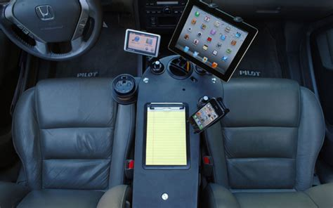 journidock mobile desk  car organizer  electronics