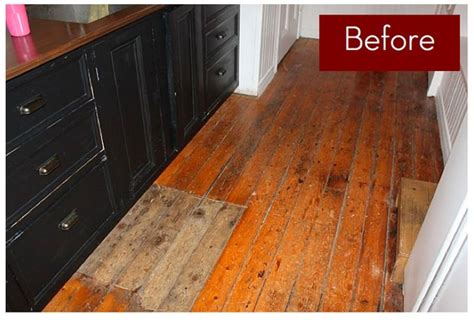 Hardwood Floor Painting Ideas Wood Floor Makeover Paint Or Not Curbly