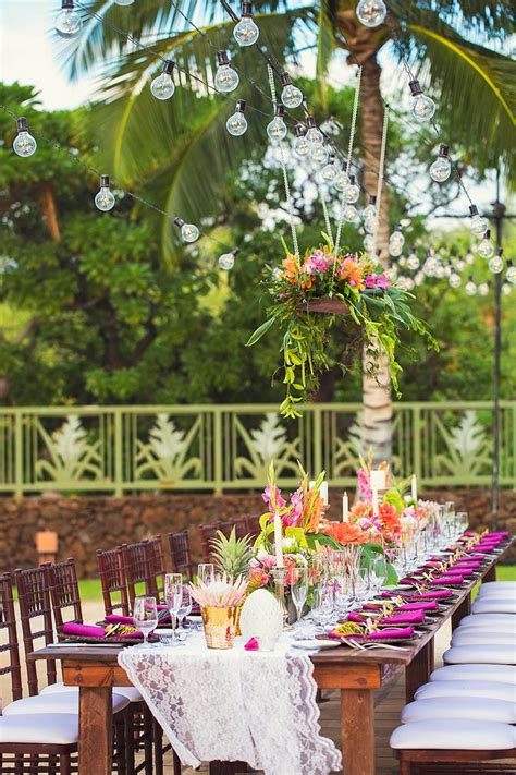 tropical themed wedding decorations 25 best ideas about tropical wedding reception on