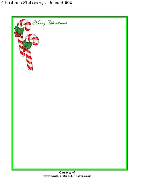 free printable christmas paper templates 5 best images of free printable christmas stationery