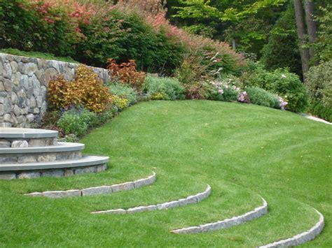 idea giardino grass steps a great garden design idea