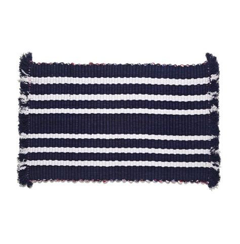 Cotton Doormat Oblin Striped Cotton Mat Remodelista