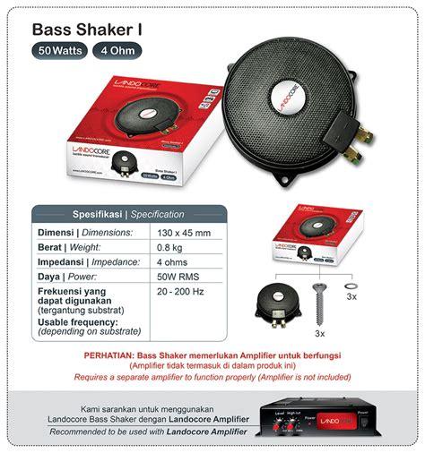 Landocore Bass Shaker I landocore bass shaker i indonesia