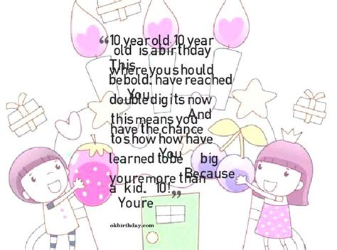 14 Year Birthday Quotes 10 Year Old Birthday Quotes Quotesgram
