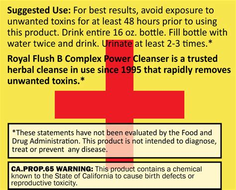 Does Royal Flush Detox Drink Work by Fast Detox Drink Stat Royal Flush Liquid Detox
