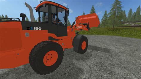 Dietz Ls by Hitachi Zw150 For Ls 17 Farming Simulator 2017 Mod Fs