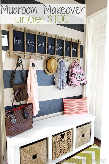 remodelaholic diy entryway mudroom  cubbies