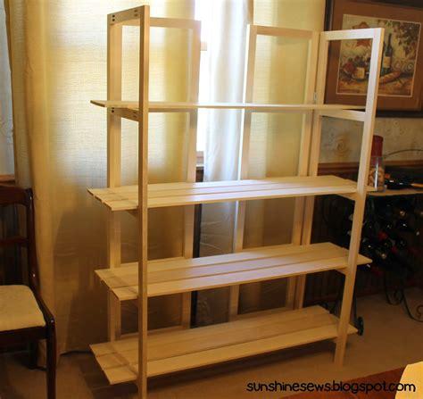 How To Make A Display Shelf by Sews New Craft Fair Display Rack