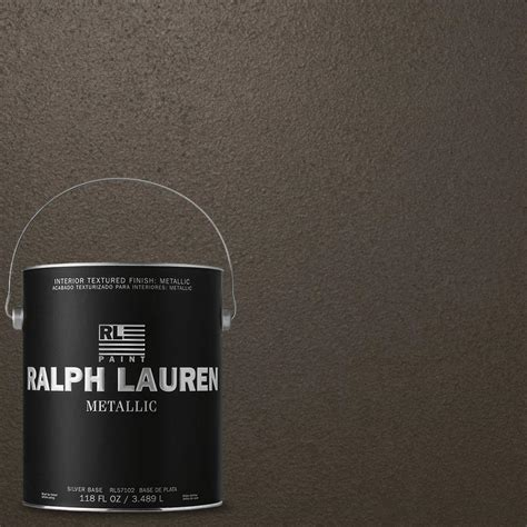 ralph 1 gal burnished copper gold metallic specialty finish interior paint me139 the