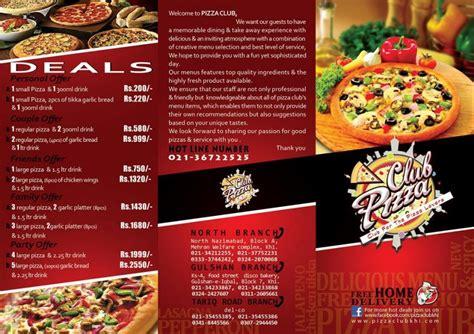 karachi boat club directions pizza club nazimabad restaurant in karachi menu
