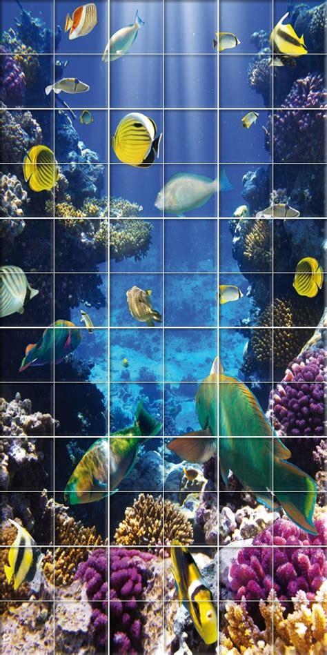 adesivi decorativi per piastrelle adesivi follia adesivo per piastrelle pesci