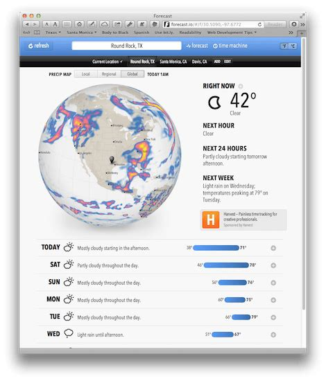 io websites forecast io great weather website mac and iphone answers