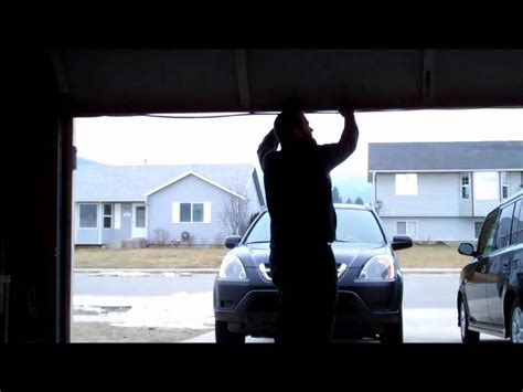 How To Balance Garage Door How To Check Your Garage Door Balance Safely