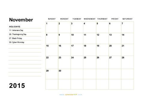 printable calendar november 2015 pdf november 2015 calendar blank printable calendar template