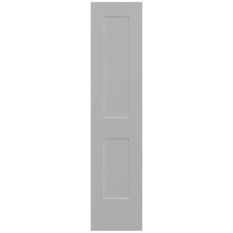 20 Interior Door Jeld Wen 20 In X 80 In Smooth 2 Panel Driftwood Solid Molded Composite Interior Door Slab