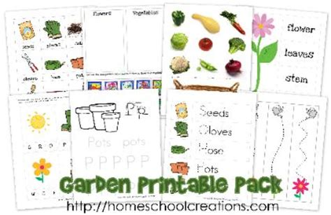 Garden Activities For Preschoolers Garden Preschool Pack