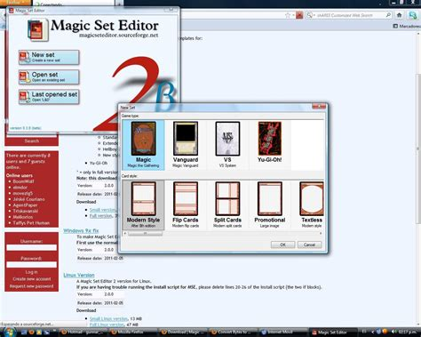 magic set editor software informer screenshots