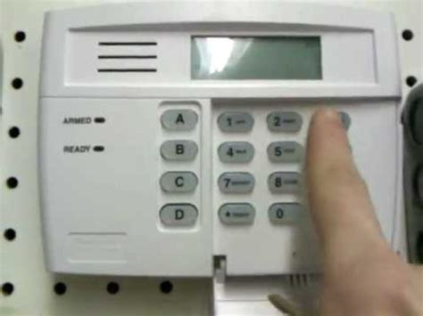 how to reset honeywell security system after alarm