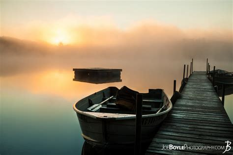 lake time boats buy quot calm misty lake with pier and boats boat close