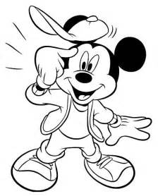 mickey mouse coloring pages learn coloring