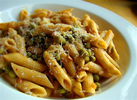 recipes online make pasta penne noodles or cold pasta recipe of the week penne pasta with peas citizens