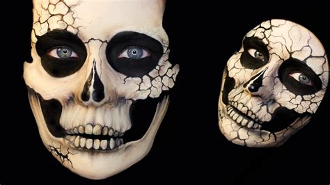 tutorial skull beautiful skull series and cracked skulls
