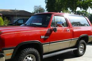 1999 Dodge Ramcharger For Sale 1993 Dodge Ramcharger Sport Picture Car Locator