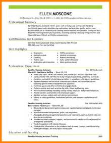 Objective For Certified Nursing Assistant Resume by Cna Resume Cna Resumed